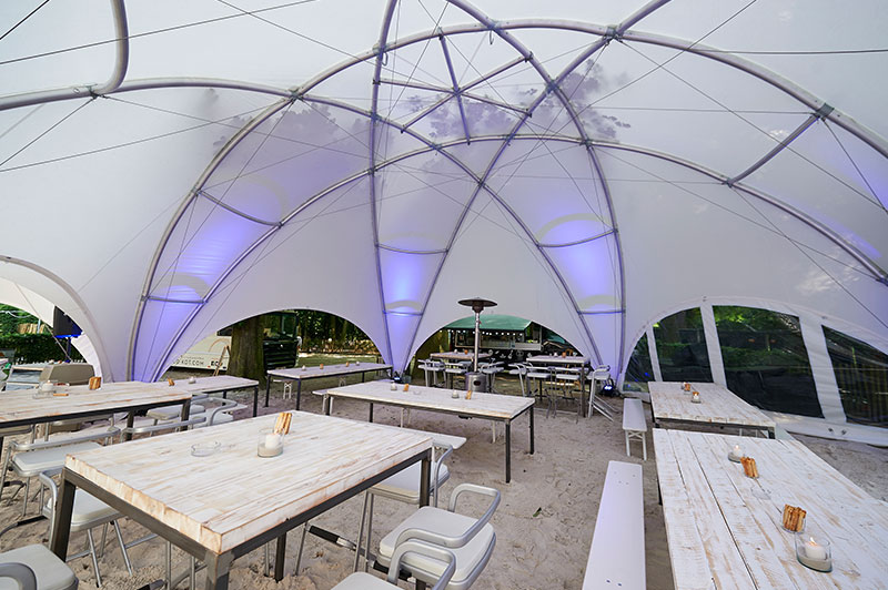 Carpa 100 m-Hexadome M2