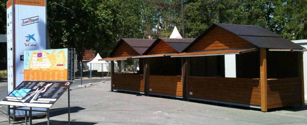 alquiler casetas de madera para ferias